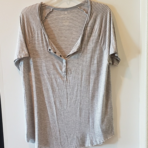 d45bab4f American Eagle Outfitters Tops - AE soft and sexy tee. Size Xl. Striped